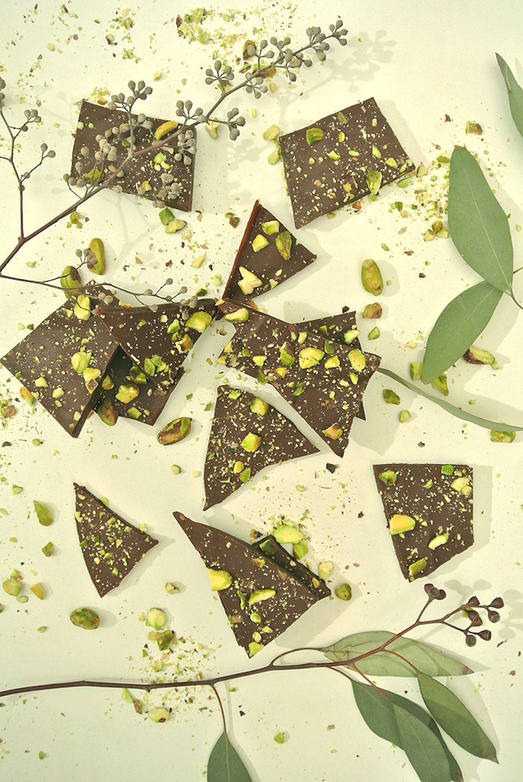 Pistachio + Cocoa Nib Salted Toffee