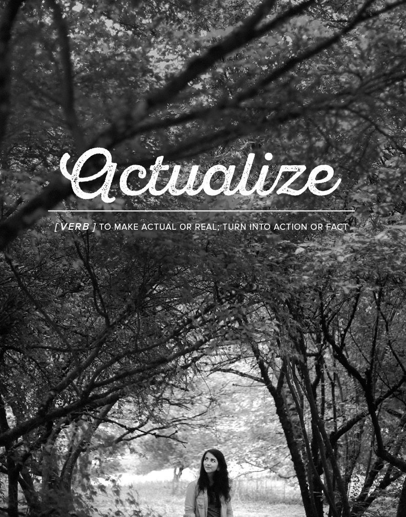 actualize