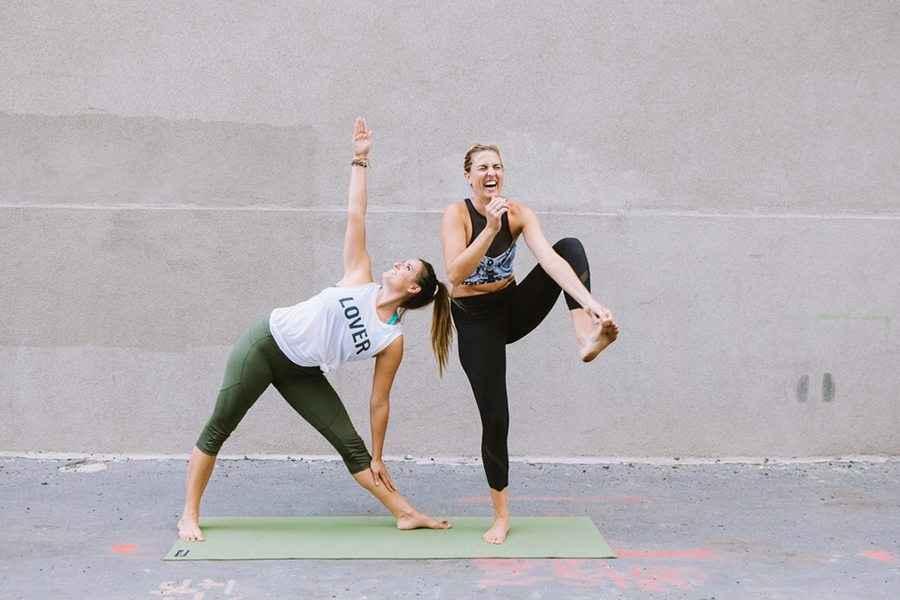 Yoga for Everyone: Simple Stress Relief | DARLING | Photo by Sara Kearns