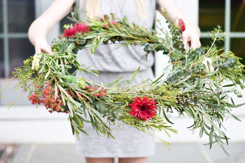 DIY: The Perfect Floral Chandelier | DARLING