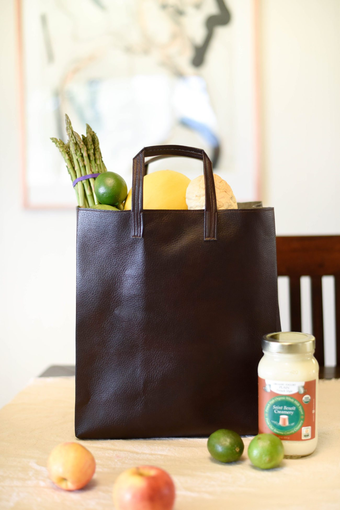 how to make your own reusable grocery tote darling magazine