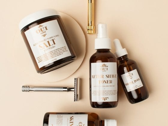 oui shave products