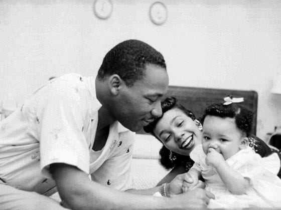 MLK Jr family