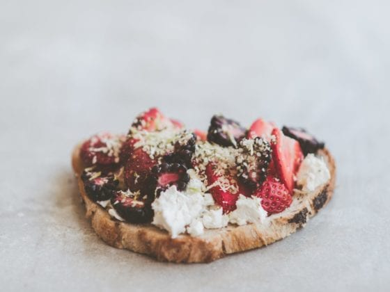 berry toast