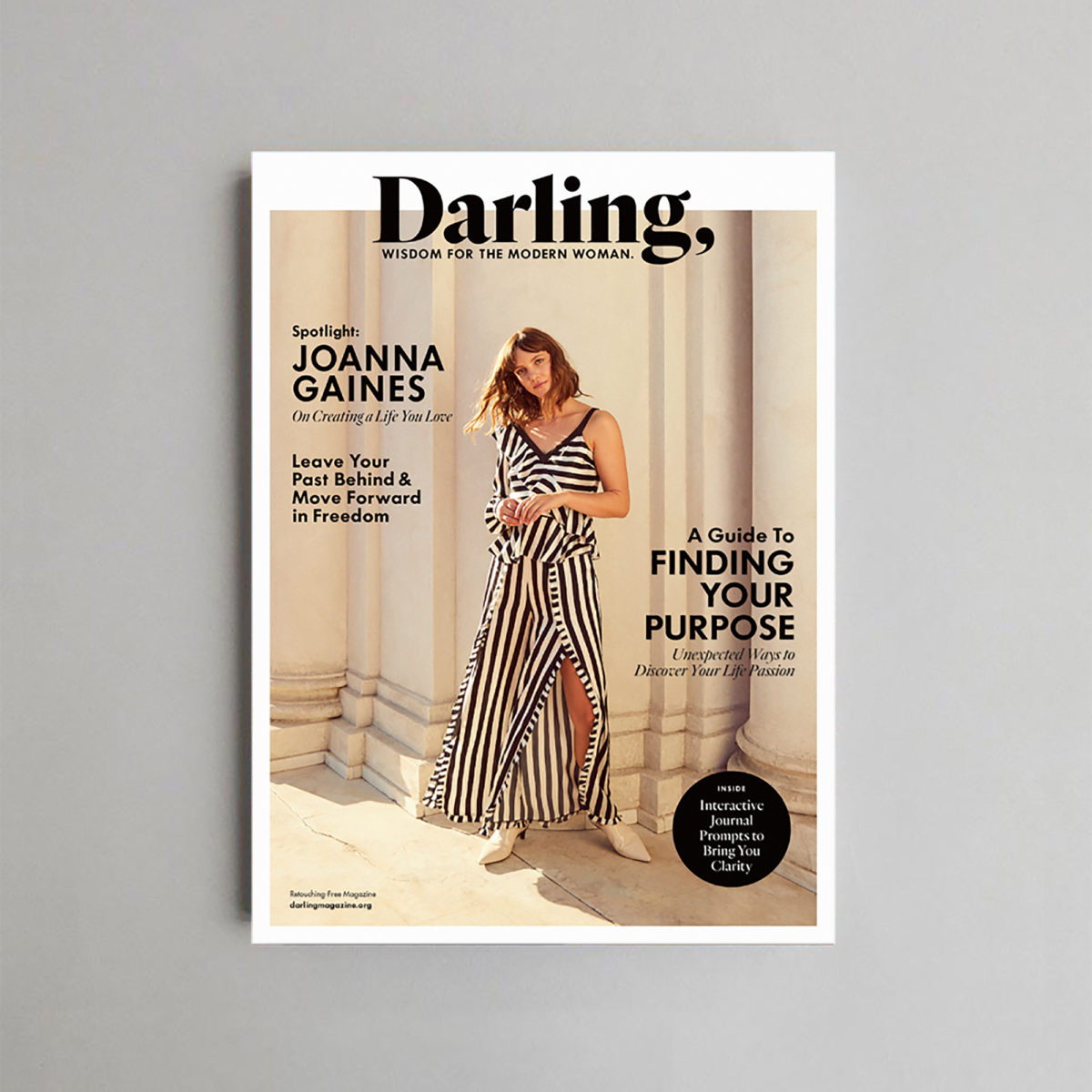 Cover of a magazine